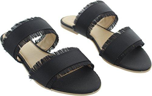 Pieces MIO, Sandales Pour Femme Noir Noir