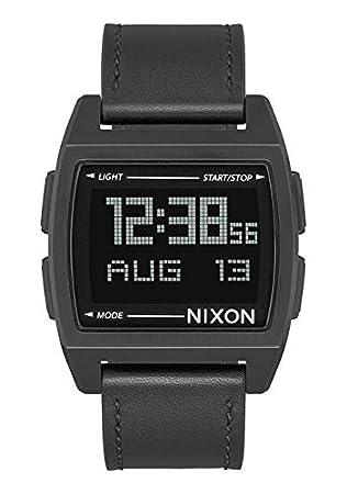 Nixon Reloj Unisex de Digital con Correa en Cuero A1181-001-00: Amazon.es: Relojes