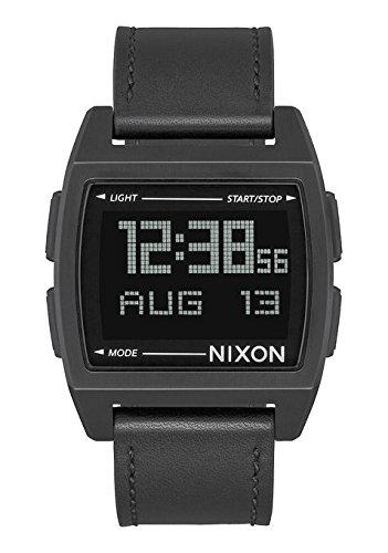 NIXON Base Leather -Spring 2018- All Black