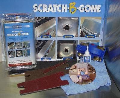 Amazon.com: Scratch B Gone Stainless Steel Scratch Repair Kit: Electronics