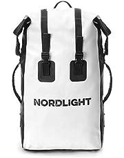 Nordlight Wasserdichter Rucksack 30L Roll Top - mit gepolstertem Tragegurt, Dry Bag Rucksack für Wassersport, Fahrrad Rucksack, Kurierrucksack, Trekking, Angeln, Snowboarden
