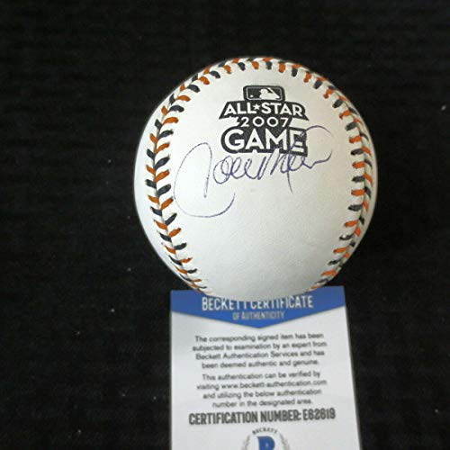 Carlos Beltran 2007 All Star Autographed Signed Baseball Beckett Ca E62619 Nice - Authentic Memorabilia