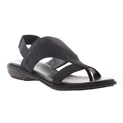 UPC 753332749122, Axxiom Latoya Women US 8 Black Open Toe Slingback Sandal
