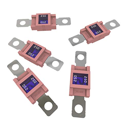 All Trade Direct 250 Amp Mega Fuse Pink