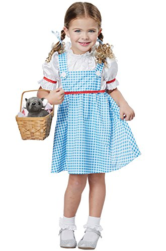 Dorothy of Oz Toddler Costume Blue/White ()