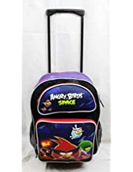 Large Rolling Backpack - Angry Birds - Space