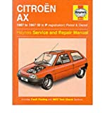 Citroen AX (1987-97) Service and Repair Manual (Haynes Service and Repair Manuals) (Hardback) - Common