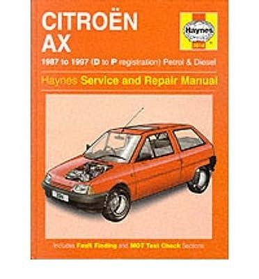 citroen ax 1987 97 service and repair manual haynes service and rh amazon com Citroen AX GT haynes manual citroen ax pdf