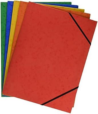 Grafoplás 98490199 Pack de 5 Carpetas de Cartón, A4 con Solapas y ...