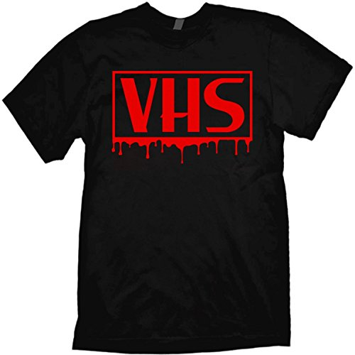 VHS T-shirt Bloody Horror