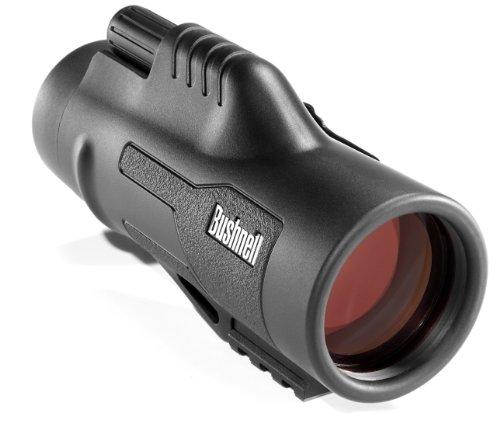 Bushnell Legend Ultra HD Monocular, Black, 10 x 42-mm