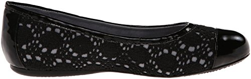 N 0 6 Black Crochet SoftWalk US Black Napa Crochet Women's Shoe qXYnnBx0F