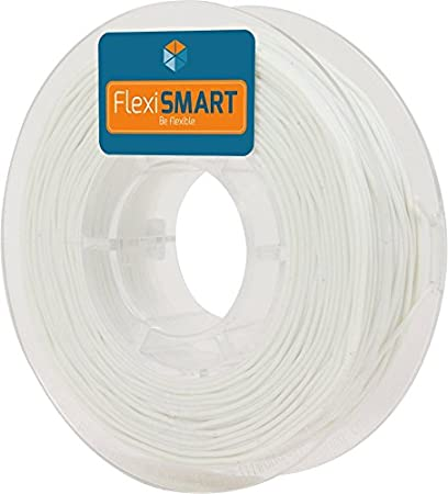 FlexiSMART Blanco 250 g. Filamento Flexible TPU 1.75mm para ...