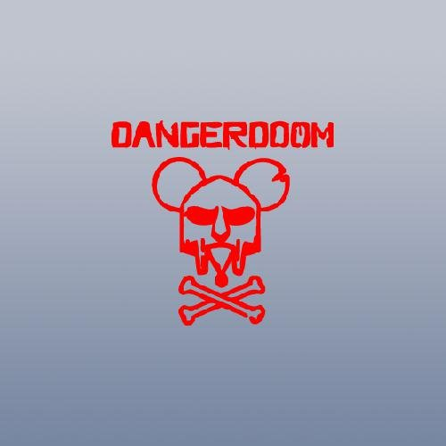 DECORATION CAR WALL ART DECAL NOTEBOOK DECOR ADHESIVE VINYL HOME DECOR HELMET CAR DANGER DOOM AUTO WINDOW WALL RED VINYL ART DIE CUT MOUSE MASK MF HIP-HOP LAPTOP - Danger Mouse Mf Doom