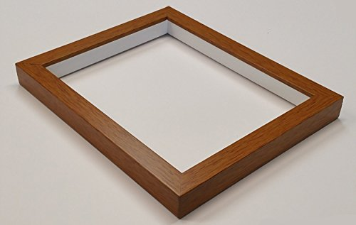 Shadowbox Gallery Wood Frames - Honey Pecan, 5 x 7 -