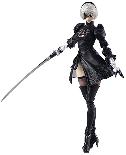 Square Enix Nier Automata Bring Arts: 2B & Machine Lifeform Action Figure