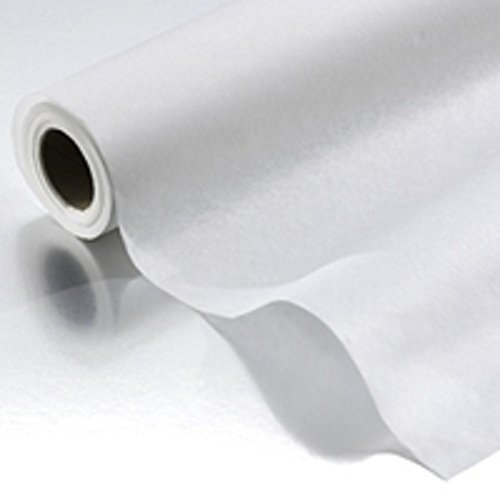 Graham Professional White Crepe Table Paper 24 Inch- 12 Count by Graham Medical Products (Image #1)