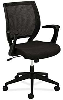 VA10 Mid Back Task Chair   Mesh Back Office Chair For Computer Desk