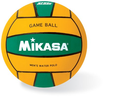 Mikasa USA Water Polo Approved Competition Game Ball Durable Men's Size 5 Yellow Green