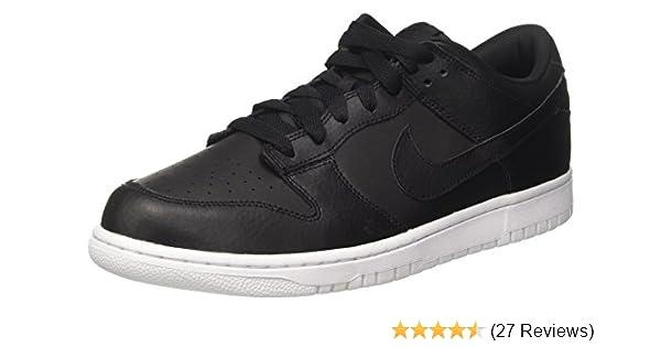 6f6a058c36ea Nike Mens Dunk Low Faux Suede Lace-Up Skateboarding Shoes