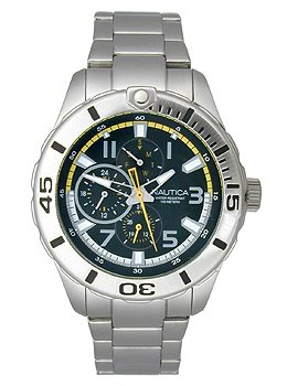 Nautica Men's N15099G NST 08 Japanese Multi-Function Watch
