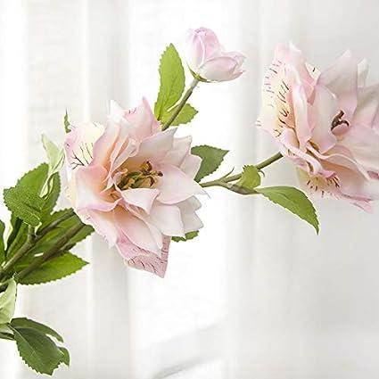 3f43a98aa2c Buy Simulation Trident Purple Lotus, SELLBINDING Plant Flower Fake ...