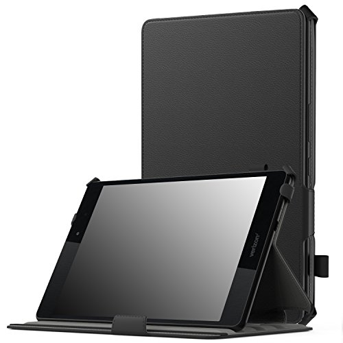Verizon ASUS ZenPad Z8 / ZenPad 3 8.0 Case, MoKo Ultra Compact Slim Fit Stand Cover Smart Case, with Auto Wake / Sleep for ASUS ZenPad Z8 ZT581KL 7.9 Verizon 4G LTE Tablet 2016 Release, Black