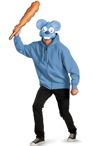 Simpsons Floreda Costumes - Disguise The Simpsons Itchy Mask and