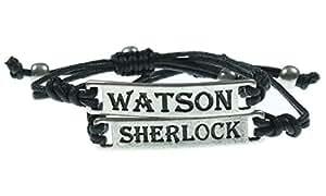 LOVEsick Sherlock Watson Cord Bracelet 2 Pack