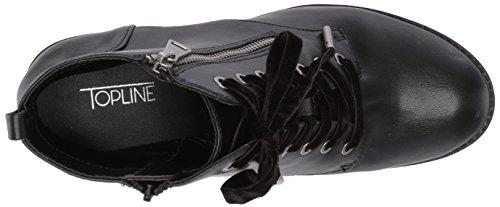 Boot Women's Black Elite1 Topline Combat 8Yn06x