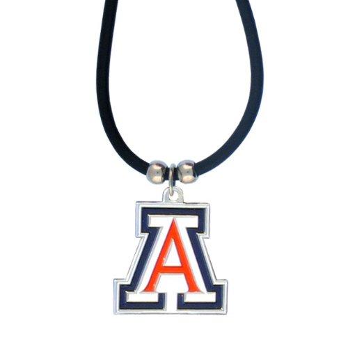 NCAA Arizona Wildcats Rubber Cord Necklace ()