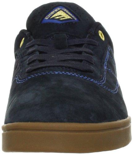 NEW 2013 EMERICA Skateboard Shoes THE HERMAN G6 Navy/Gum