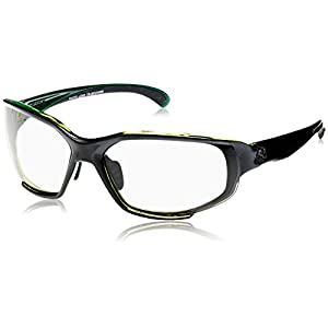 Ryders Eyewear HIJACK Cycling Sunglasses with Grey Photochromic Tint Changing Lenses, Black