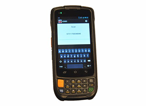 Rugged Extreme Handheld Mobile Computers, Data Terminal With Motorola Symbol 1D Laser Barcode Scanner / GPS / Camera,  Android 5.1 OS, Qualcomm Quad Core CPU, WiFi 802.11 b/g/n by Cruiser (Image #4)