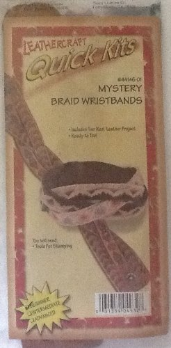 Mystery Braid Wristbands - Leathercraft Quick Kits - #44146-01