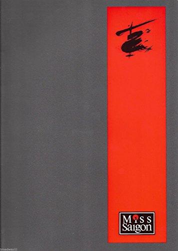 Lea Salonga MISS SAIGON Jonathan Pryce/World Premiere 1989 London Souvenir Program