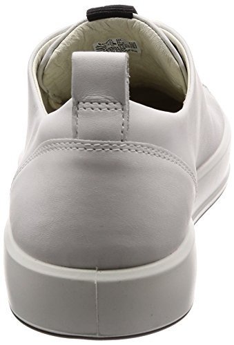 ECCO Men's Soft 8 Fashion Sneaker, Brown, 8.5 D(M) US White(1007white)