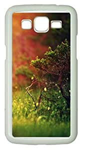 Samsung Grand 7106 Case and Cover -Mystical sunshine nature PC Hard Plastic Case for Samsung Grand 2/7106 Whtie