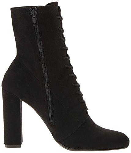Women's Elley Madden Black Ankle Bootie Steve qz1xp8w