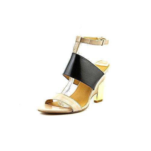Nine West Women's Neeway Dress Sandal,Black Multi,7.5 M US
