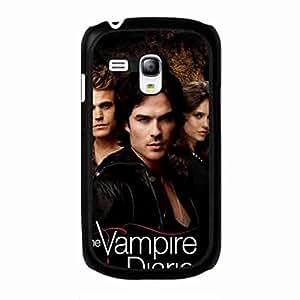 Custom Vampire Diaries Funda,Vampire Diaries Funda Black Hard Plastic Case Cover For Samsung Galaxy S3 MINI