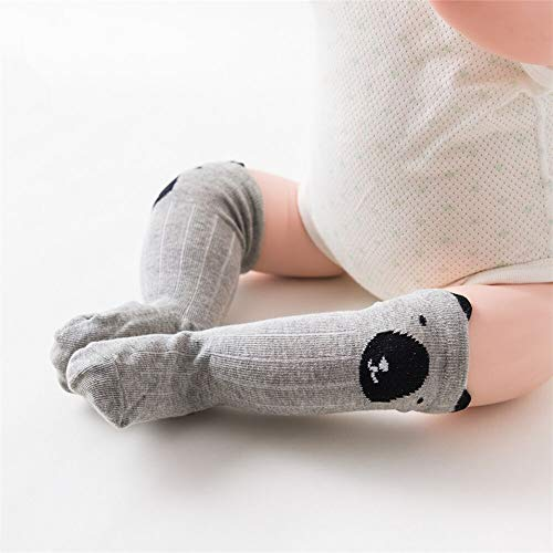 1Pair Socks Sweet Socks for Newborn Infant Kids Cotton Toddlers Leg Warmers Knee Soft Long Baby Socks for Girls Boy (10, 12M)