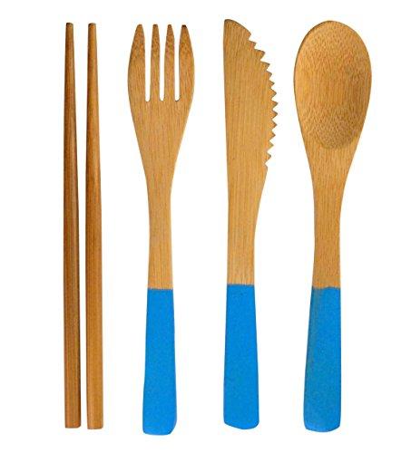 Bamboo Flatware Cutlery Set Chopsticks product image