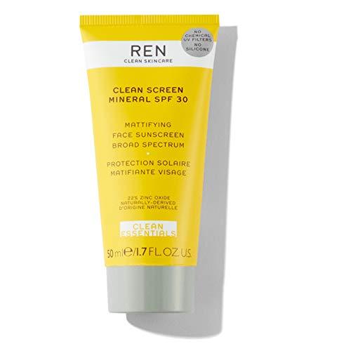 REN Clean Screen Mineral SPF 30 Mattifying Face Sunscreen - 1.7 oz