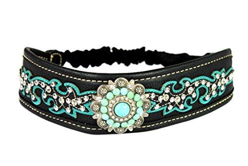 Concho Bling Rhinestone Women Headband Stretch, Hair Accessories, Hair Jewelry