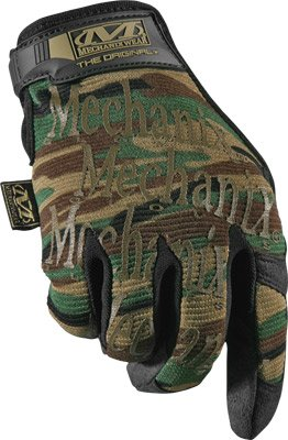 Mechanix Wear - Original Woodland Camo Tactical Gloves (X-Large, Camouflage) ()