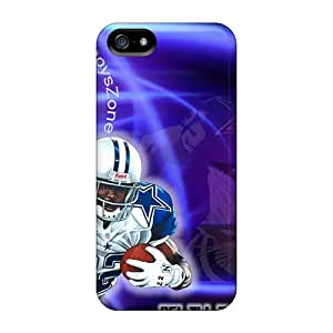 Protector Cell-phone Hard Covers For Iphone 5/5s (IJI12104CeSM) Support Personal Customs Attractive Dallas Cowboys Pictures