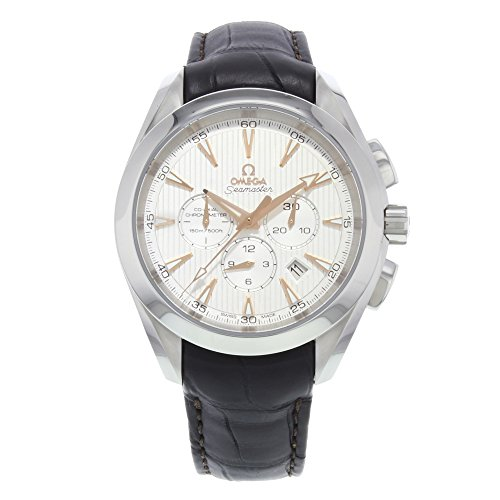 Omega Men's 23113445002001 Analog Display Swiss Automatic Brown Watch