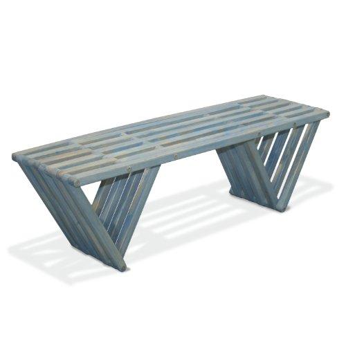 GloDea X60 Bench, Sky Blue