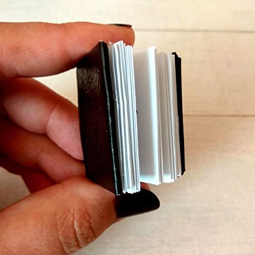 قیمت و خرید دفترچه یادداشت مینیاتوری دفتر خاطرات عروسک مجله کتاب عروسک کوچک برای کتابخانه مقیاس 1 6 1 4 هدیه دست ساز برای کرم کتاب مالتینا